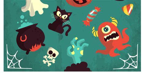 halloween vector art pack vol conceptual vectors pixeden