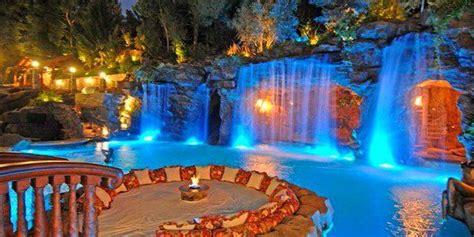 pool waterfall lights pesquisa google luxury swimming pools insane pools swimming pools