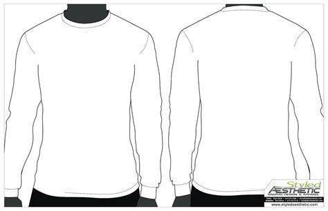 tshirt design template png template blank clothing design template long sleeve tee