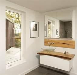 Decoration For Bathrooms by Waschtisch Aus Holz F 252 R Aufsatzwaschbecken Bauen