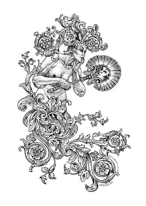 Kleurplaat Acanthus by Mitoquillo 3 Dibujos E Ilustraciones Illustrations De