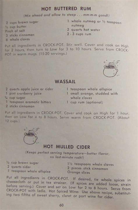 rival crockpot recipes  directions manual