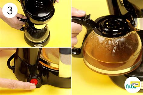How to clean a coffee pot with vinegar. How to Clean a Coffee Maker (with step-by-step real photos)   Fab How