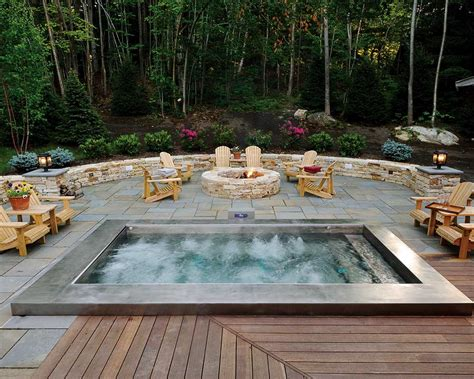 Cool Outdoor Jacuzzi Ideas-home Design And Decoration