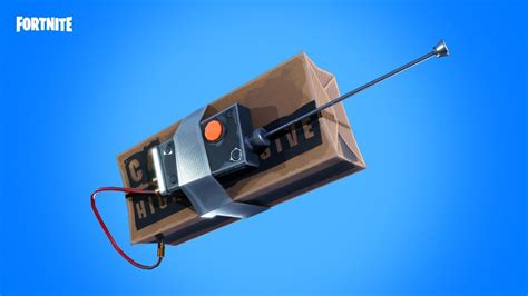 fortnite remote explosives announce trailer system