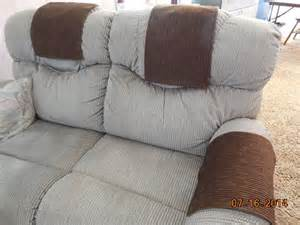 custom made chair headrest arm covers available www