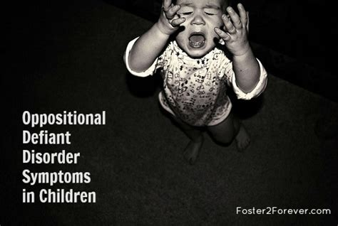 help is this oppositional defiant disorder foster2forever 158 | oppositional defiant disorder symptoms children1