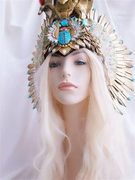 #Egyptian #headpiece #hathor #Egyptiangoddess #wings # ...