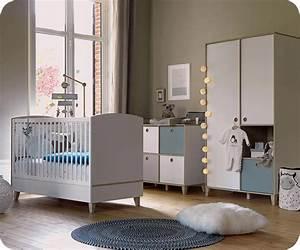 Chambre Garcon Complete : chambre b b compl te perle blanc et bois ~ Teatrodelosmanantiales.com Idées de Décoration