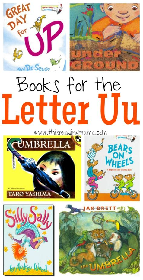 books for the letter u 572 | Books for the Letter U This Reading Mama