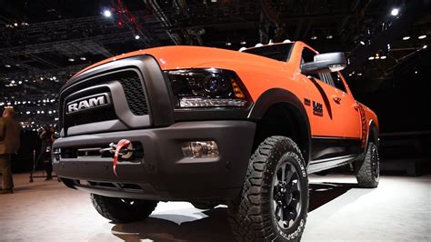 ram power wagon  chicago auto show youtube