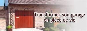 Aménagement D Un Garage En Studio : comment transformer un garage en pi ce vivre ~ Premium-room.com Idées de Décoration