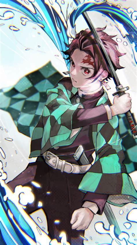 demon slayer kimetsu  yaiba phone wallpaper hachiman