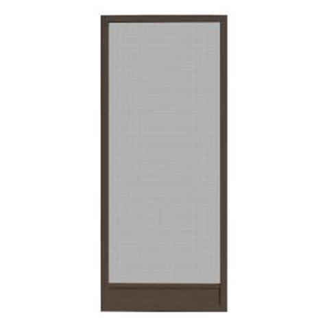 bronze screen door unique home designs 36 in x 80 in delray bronze outswing