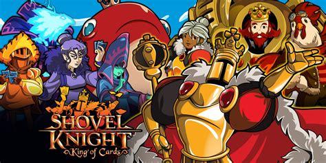 shovel knight king  cards nintendo switch