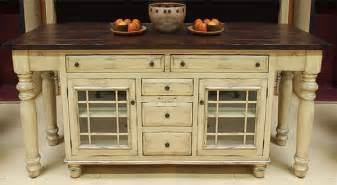 solid wood kitchen island with glass mullion lower cabinets - Unfinished Wood Kitchen Island