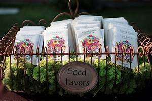 combine textures with seed packet display ideas see more With wedding favor seed packets
