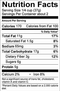 free blank nutrition facts label template nutrition ftempo With blank nutrition facts label template