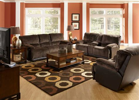 Curtains For Living Room With Brown Furniture Dark Themed