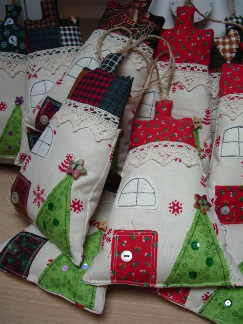 fabric house christmas decorations the sock garden