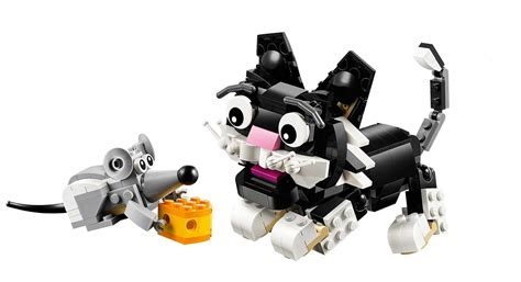 legos cat lego creator  furry creatures