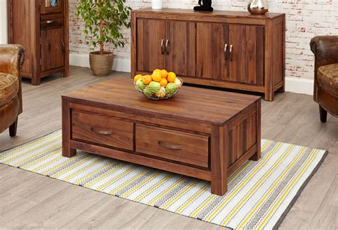 36 inches square, coffee table, 2 drawers each on opposite sides, 36 by 36 and 20 inches tall, incoeurdalene. Mayan Dark Wood Coffee Table With 4 Drawers Storage Solid Walnut 5060164713395 | eBay