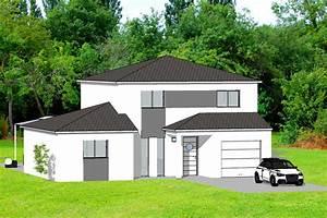 construire une maison a toul maisons atrium constructeur With modeles de maisons a construire