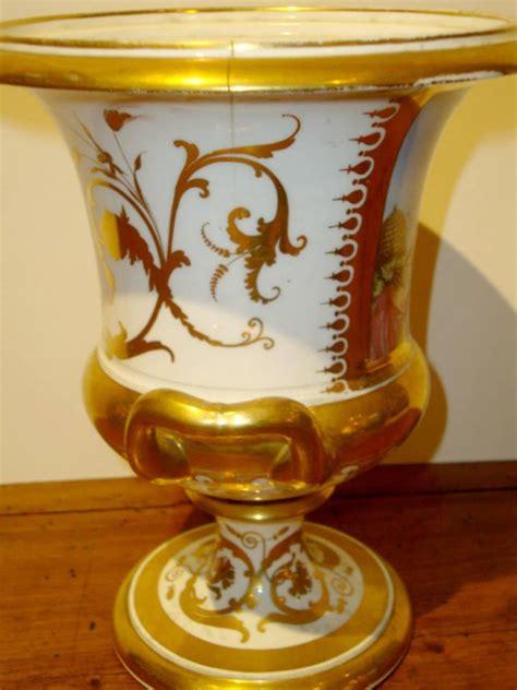 antique english porcelain vase chamberlains worcester