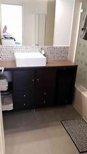 un meuble de salle de bain pas cher avec ikea kallax With meuble kallax ikea