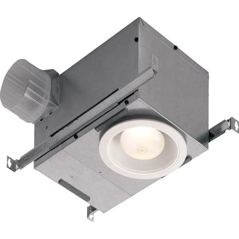 nutone bathroom fan home depot nutone 70 cfm ceiling exhaust fan with recessed light