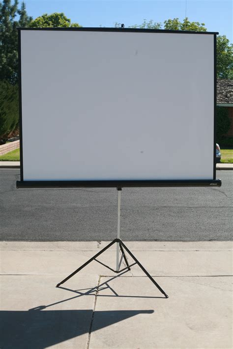 overhead projector screen projector screen