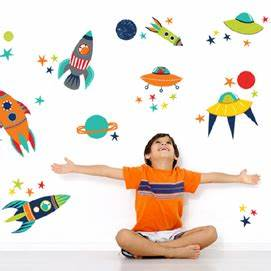 Wall Decals for Kids - Rosenberry Rooms