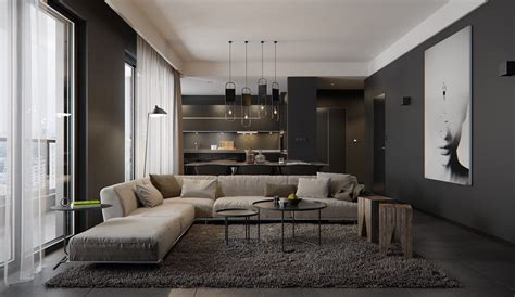 Sophisticated Gray Interior by Luxury Styles 6 And Daring Interiors