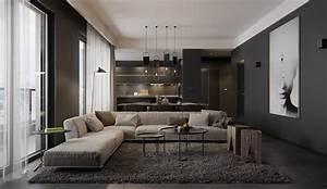 Luxury, Styles, 6, Dark, And, Daring, Interiors