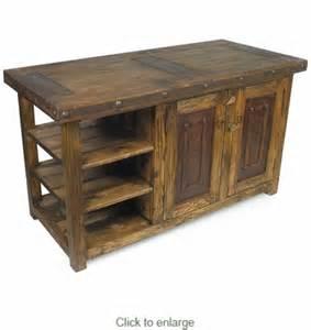 iron kitchen island rustic wood kitchen island with iron accents