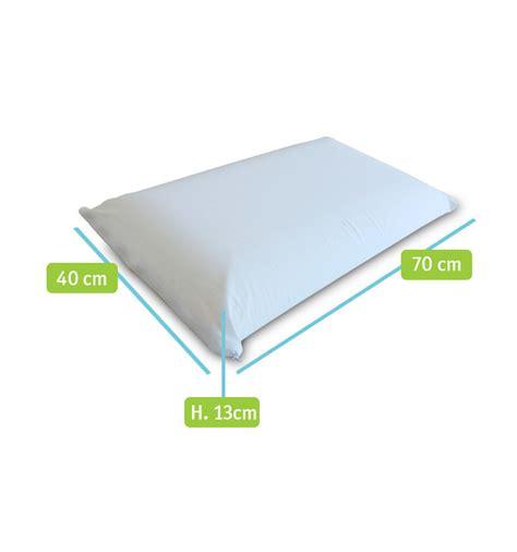 cuscino memory foam prezzi cuscini memory modello classic 40x70 cm in offerta