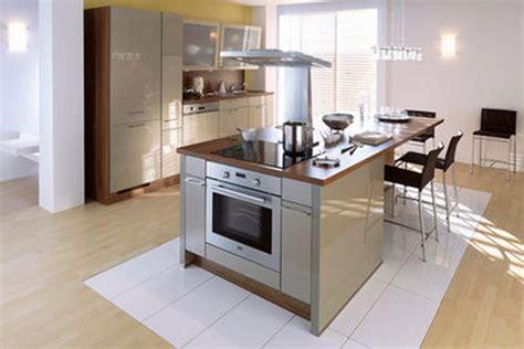 ilot centrale de cuisine modele de cuisine avec ilot photos gt gt modele de