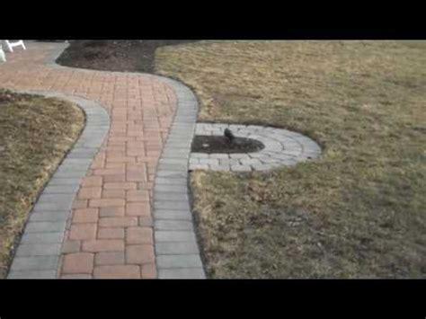 paver walkway landscaping ideas doylestown pa youtube