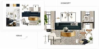 Interior Havenly Designer Concept Sample Concepts Pages