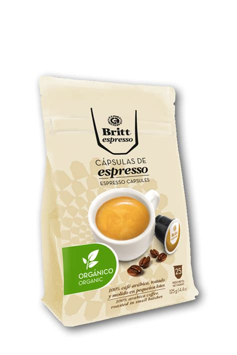 Your organic pod will be right on its way to getting back in the ground. Organic Espresso Capsules: 25 Pack Coffee Pods | Cafe Britt