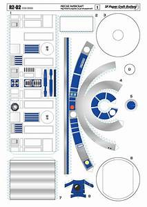 r2 d2 papercraft r2dto With r2d2 printable template