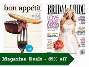 Bridal Guide Bon Appetit Magazine Deals Today Only