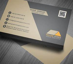 free real estate business card template psd freebies With buiness card template