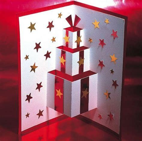 weihnachtskarten basteln 3d kindern weihnachtskarten basteln 3d effekt geschenke