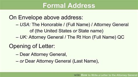 write  letter   attorney general  steps