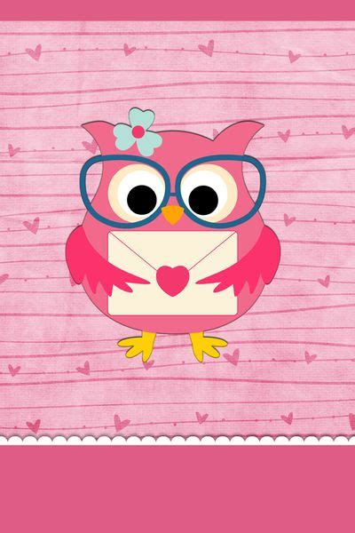 cute pink owl wallpaper gallery