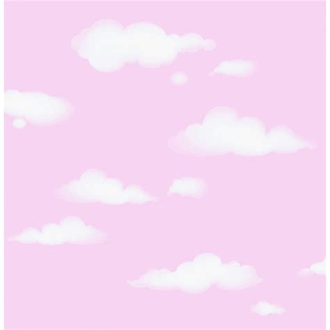 pink and white l i love wallpaper clouds childrens wallpaper pink white