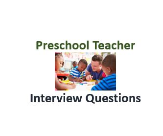 budget analyst questions and answers resume free 641 | Preschool Teacher Interview Questions