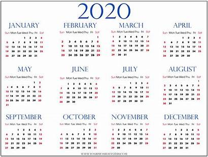 Calendar Transparent Printable Template Yearly Background Pdf