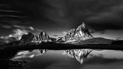 Mountains Landscape Nature Dolomites Water Lake Reflection